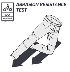 Lindstrands Abrasion resistance test